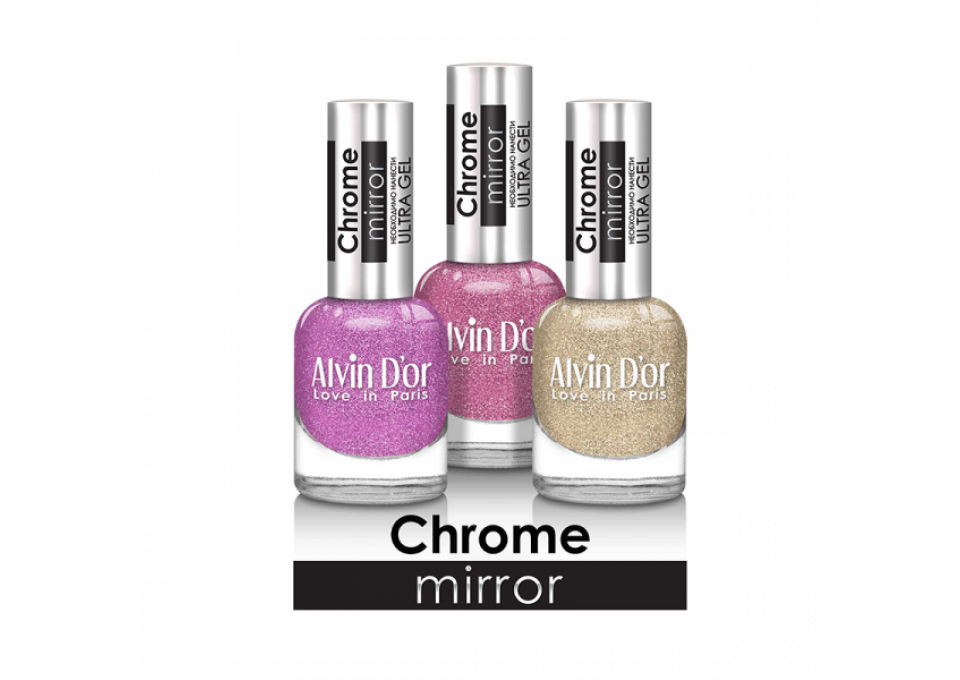 Лак для ногтей Chrome mirror