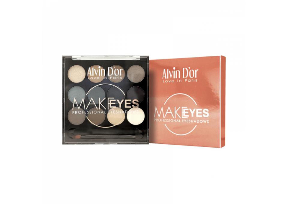 Make Eyes Профессиональные тени для век