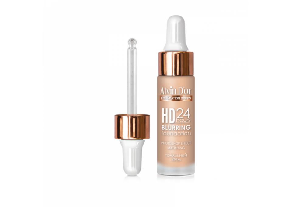 Тональный крем HD - 24 Blurring Foundation- безупречное покрытие 25 мл.